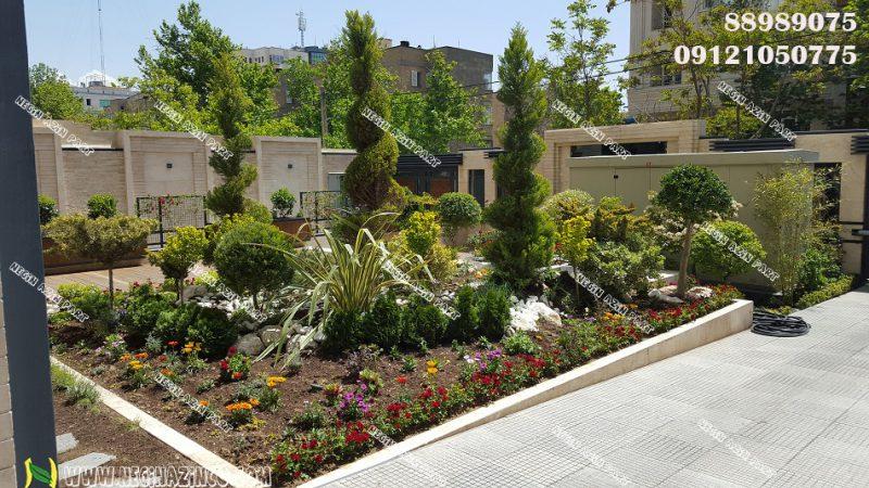 طراحی و ساخت محوطه و فضای سبز