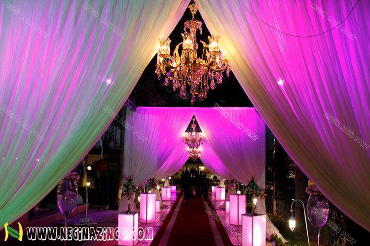 طراحی و ساخت باغ عروسی