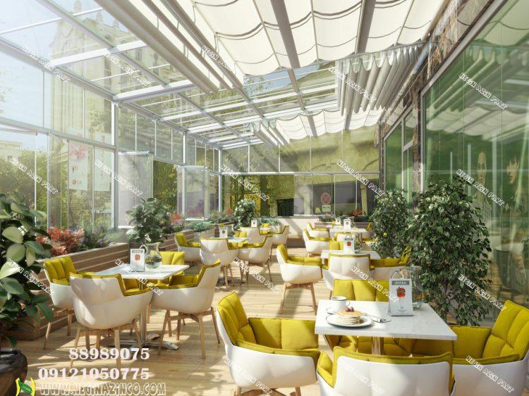 طراحی و اجرا و ساخت رستوران